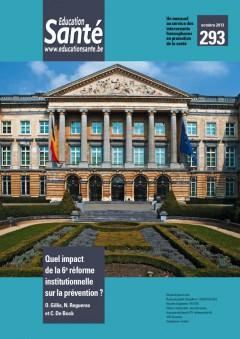 Education Santé, n° 293, 17 septembre 2014